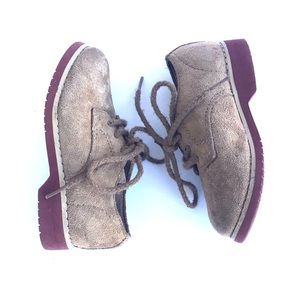 Hush Puppies Suede | Leather Boys Dress Shoes